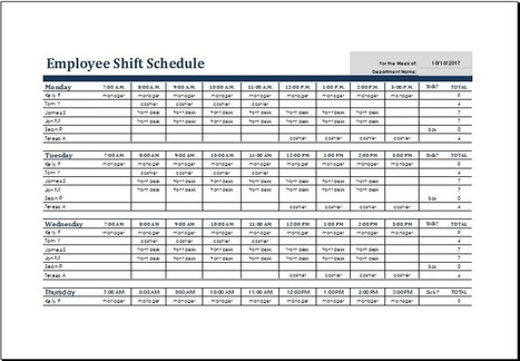 Schedule In Collection Of Microsoft Word  Excel Templates  ScoopIt