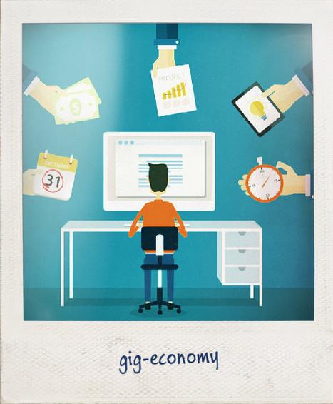 Gig Economy : vers une économie à la tâche mondialisée? | La nouvelle réalité du travail | Scoop.it