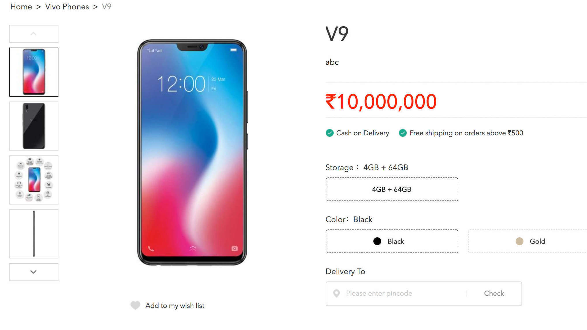 Vivo V9 Went Live In Indias Website Ahead Laptop Repair Hp Makati