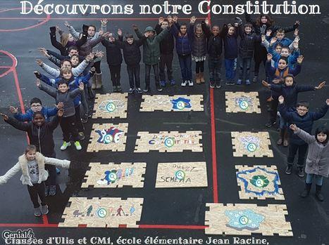 Constitution - Projet des élèves de l'école Jean Racine à Châteautoux -Classe ULIS et CM1   Vie numérique  à l'école - Académie Orléans-Tours   Scoop.it