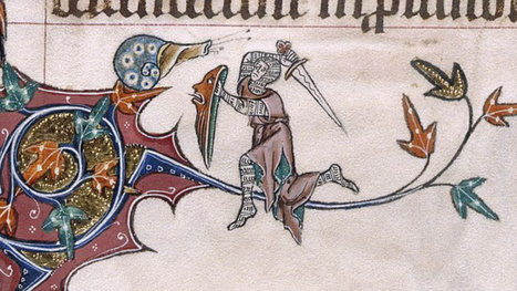 Why do knights fight snails in illuminated manuscripts? | Strange days indeed... | Scoop.it