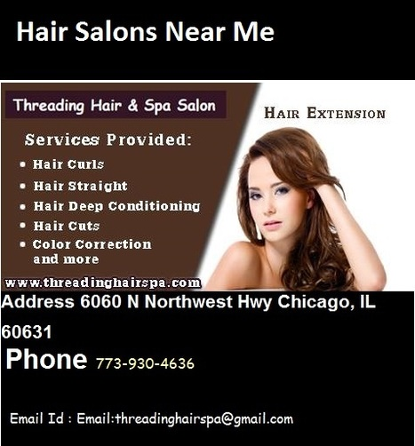 Hair Salons And Beauty Shops For Women And Men Hai In Threading Salon Scoop It