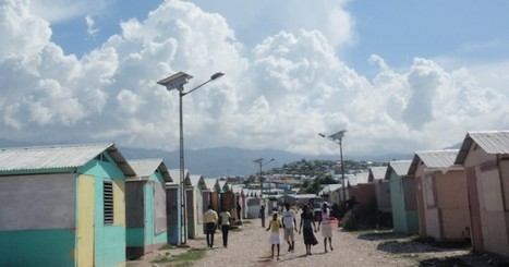 La lumière sécurise les camps de réfugiés haïtiens   Le groupe EDF   Scoop.it