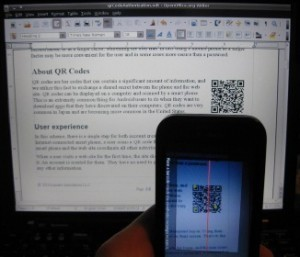 Une nouvelle forme d'authentification basee sur les QR codes | TechBrunch | Mobilité | Scoop.it