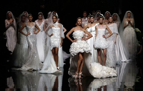 Elie Saab for Pronovias: Sumptuous Gowns Displayed at Barcelona Bridal Show | I don't do fashion, I am fashion | Scoop.it