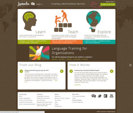 3 sites Internet pour apprendre des langues en ligne. | télétravail | Scoop.it