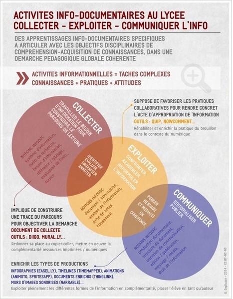Infographie : communiquer sur le projet pédagogique global au sein de l'établissement | Culture de l'info et des médias en lycée | CDI RAISMES - MA | Scoop.it