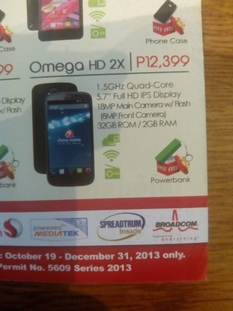 Breaking: Cherry Mobile Omega HD 2X leaked! Ful