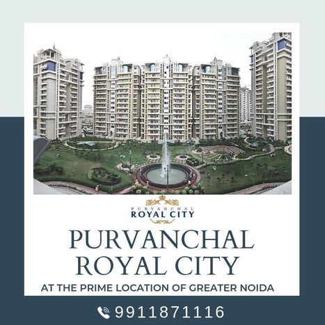 Purvanchal Royal City CHI 5 Greater Noida' in Best software