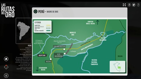 Portada - Las rutas del oro | Interactive & Immersive Journalism | Scoop.it