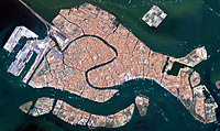 Satellite Image, Landscape Analysis: Venice | AP Human Geography Education | Scoop.it