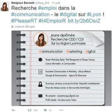 Qui se cache derrière I4emploi, le hashtag qui permet de trouver un CDI? | fpc : éducation, emploi, formation | Scoop.it