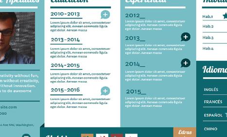 Currículum Vitae | Recursos digitais | Scoop.it