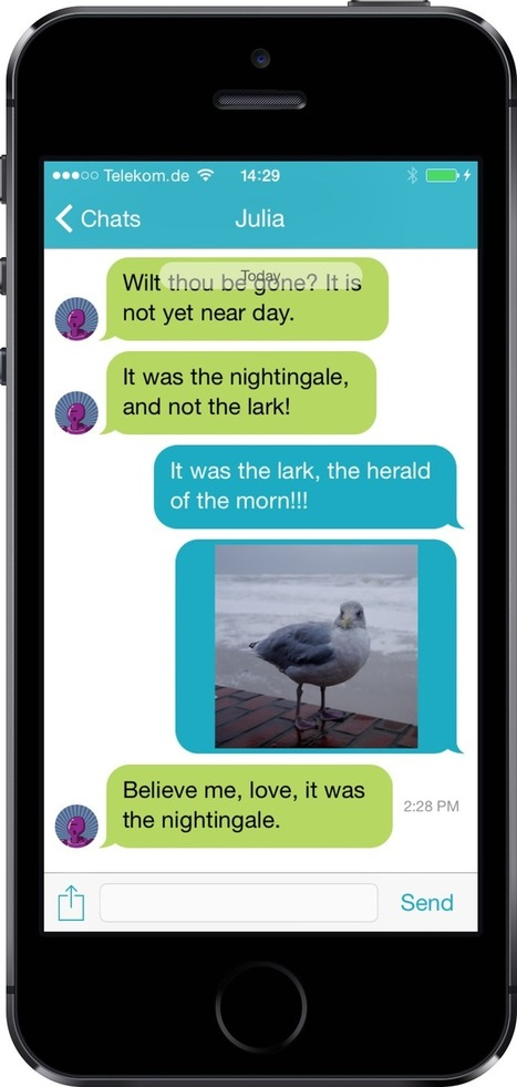schmoose messenger | Made in Luxembourg | Privacy | Encryption | | Apps and Widgets for any use, mostly for education and FREE | Scoop.it