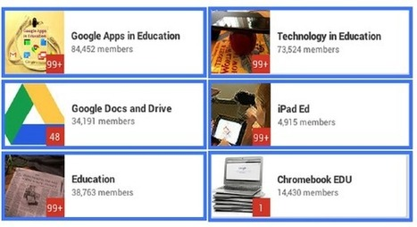 5 Great Google Plus Communities for Teachers and Educators ~ Educational Technology and Mobile Learning | Educational Technology Today | Scoop.it