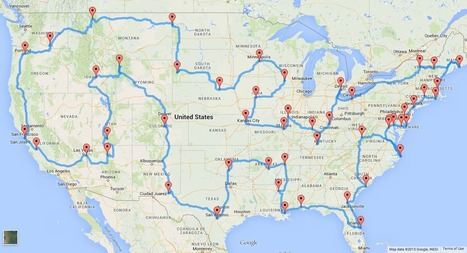 This is The Perfect U.S. Road Trip According to Scientists | Motorhome Madness | Scoop.it