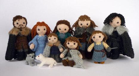 Game of Thrones Crafts: Amigurumi Starks & Lannisters | Geeky Creations | Scoop.it
