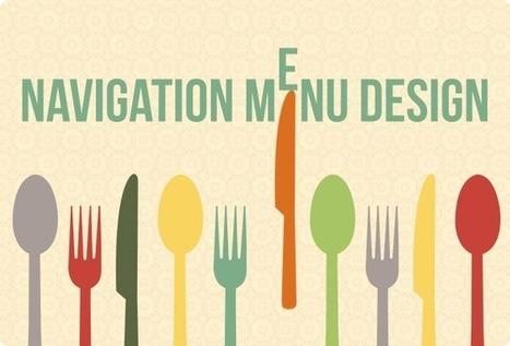 Navigation Menu Design: Latest Trends | Designer's Resources | Scoop.it