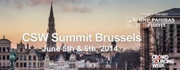 CSW Summit Brussels - Crowdsourcing Week | Collaborative Innovation and the Sharing Economy | Scoop.it