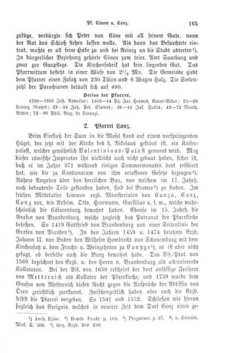169 [165] - 2. Pfarrei Conz. - Page - Universitätsbibliothek Trier | Digital History | Scoop.it