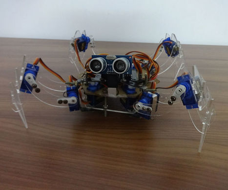 QUATTRO - the Arduino Quadruped Robot | Raspberry Pi | Scoop.it