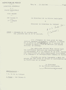 Réquisition d'autobus pour la rafle du Vel d'Hiv | HistoGraphe | GenealoNet | Scoop.it