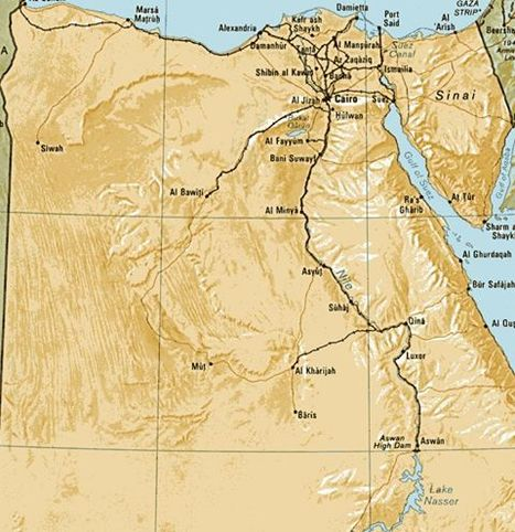 Egypt Travel Maps | Beautiful Egypt Pyramids | Scoop.it