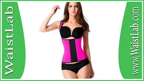 fd4f570dab9 YIANNA Women s Latex Sport Girdle Waist Training Corset Waist Body Shaper  Review ~ WaistLab