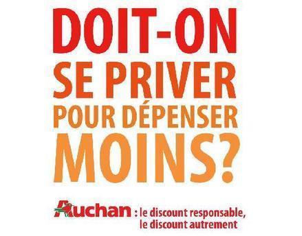 Auchan : « Doit-on se priver pour dépenser moins ? » | Actualité de l'Industrie Agroalimentaire | agro-media.fr | Scoop.it