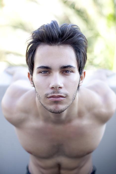 ISLAND: Model Spotlight :: New Face Carlos Villar by David Wagner | FlexingLads | Scoop.it