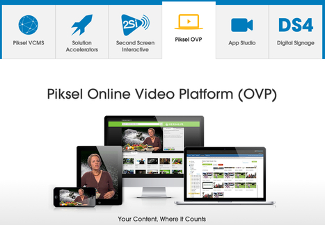 @Piksel - We help the world's leading brands maximize their reach and return with video.   Online Video Provider (OVP) List   Scoop.it
