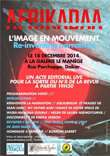 AFRIKADAA: AFRIKADAA IMAGE EN MOUVEMENT LIVE IN DAKAR | Afro design and contemporary arts | Scoop.it