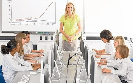 Classroom technology 'rarely used' by half of teachers | LearningTeachingTeachingLearning | Scoop.it