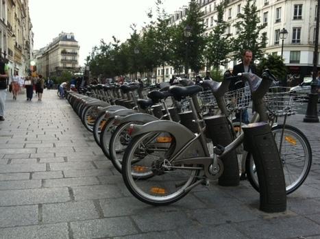 Un objet à Paris : la station Vélib' - Citazine | Des yeux sur le deux-roues | Scoop.it