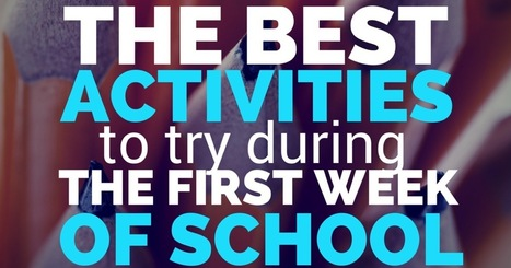 The Best Activities to Try During the First Week of School | Learning and Teaching Literacy | Scoop.it