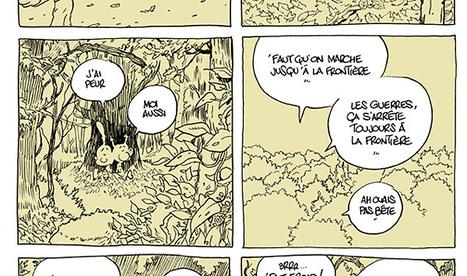 Zep dessine Titeuf dans un pays en guerre pour dénoncer le drame des réfugiés en Europe - Le Monde | Ressources en HGEC | Scoop.it