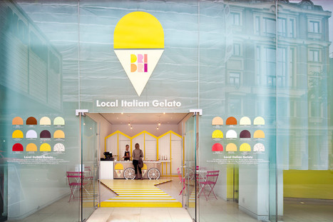 A Pop-Up Gelato Shop Brings An Italian Beach To London | Co. Design | Tracking Transmedia | Scoop.it
