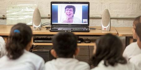 Née en Inde, l'«école dans le nuage» perce en France #educ #apprendre | Enseigner, former, éduquer | Scoop.it