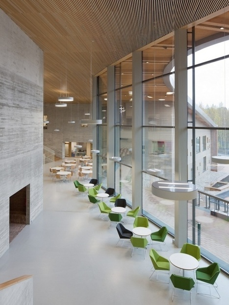 The school of the future has opened in Finland | Digital TSL | Scoop.it