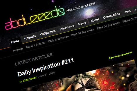 The Best Graphic Design Inspiration Sites | Media Militia | Nonprofit Communications | Scoop.it