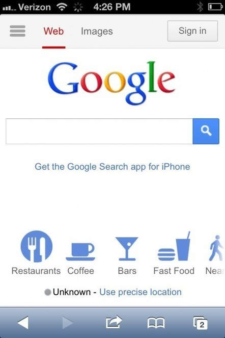 Google updates its mobile homepage to improve navigation, discovery | A Social, Tech, Market, Geek addicted | Scoop.it