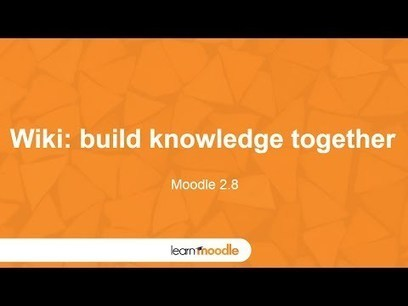 Moodle 2.8 Wiki Activity - Moodle Tuts | E-Portfolio | Scoop.it