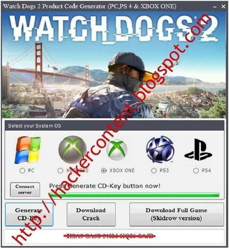 watch dogs key generator download