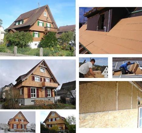 On éco-rénove avec la fibre de bois | Ageka les matériaux pour la construction bois. | Scoop.it