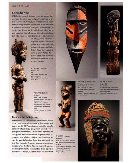 La Biennale des Antiquaires /Tribal Art   La Biennale - Paris   Scoop.it
