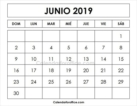 Calendario Blanco.Calendario 2019 En Blanco Y Negro In Calendar For Office Scoop It