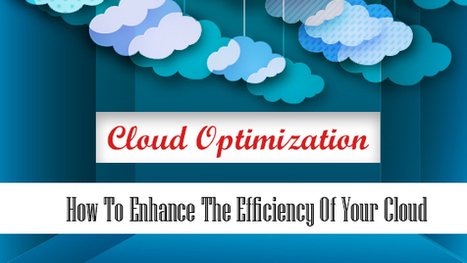 Cloud Optimization: How to Enhance the Efficiency of Your Cloud Usage | Cloud Central | Scoop.it