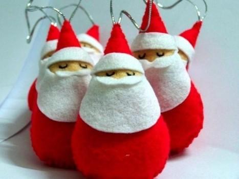 Lavoretti Di Natale Per Bambini In Feltro Foto