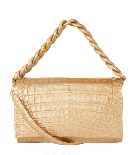 1d9c41c1315c Nancy Gonzalez Chain Handle Crocodile Bag