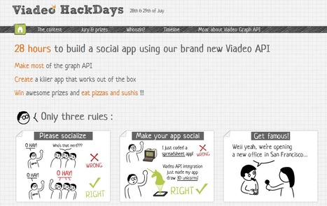 Viadeo Hackdayz Toulouse Networks Scoopit